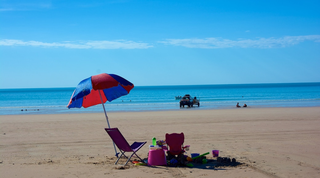 Gantheaume Point which includes a sandy beach