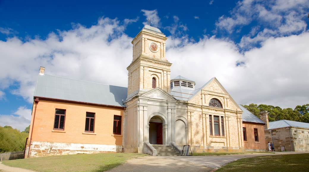 Port Arthur Historic Site featuring heritage architecture and a church or cathedral