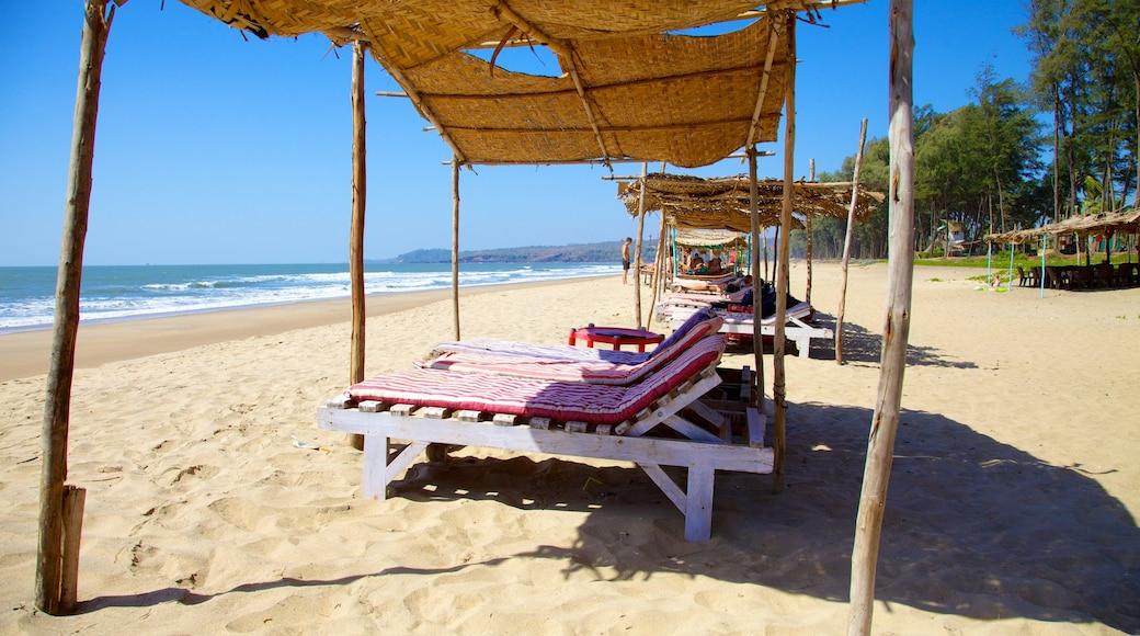 Praia Querim mostrando uma praia de areia