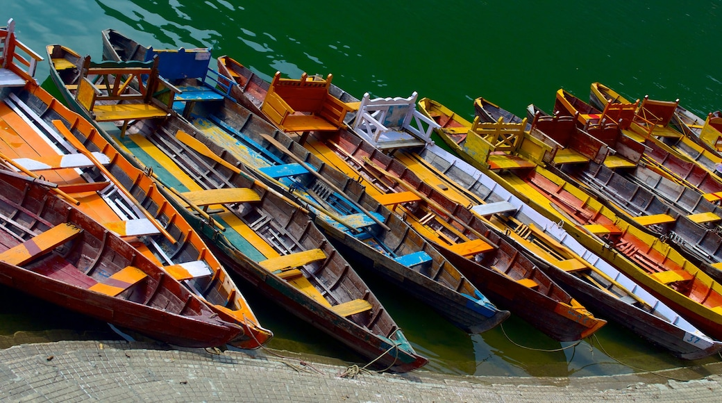 Bhimtal which includes boating and kayaking or canoeing