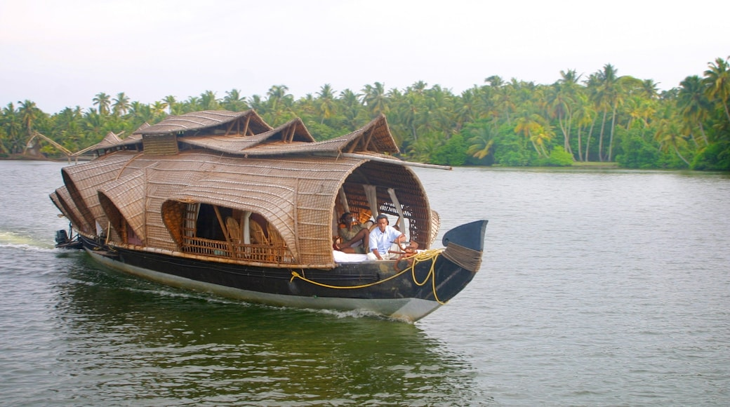 Cochin featuring boating, a river or creek and landscape views