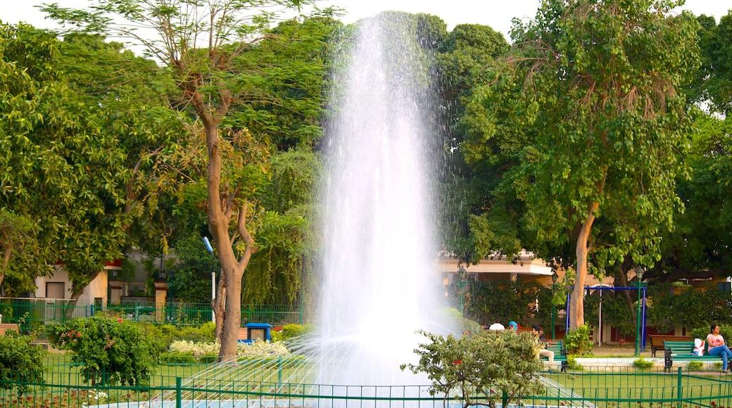 Nicco Park featuring a garden and a fountain
