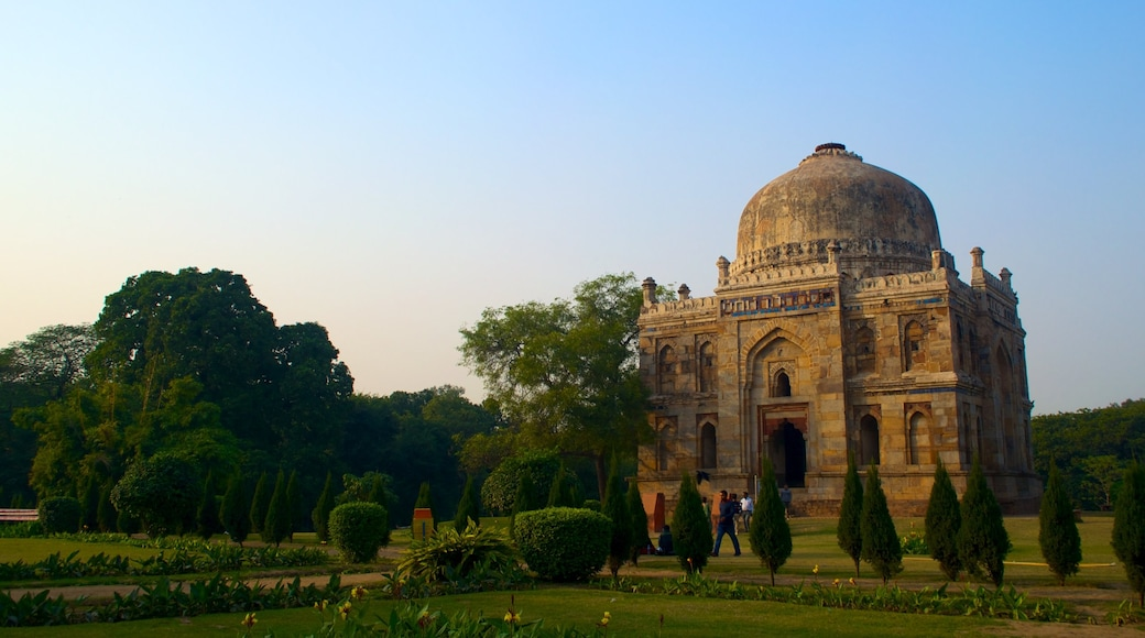 Lodhi Garden featuring heritage architecture, a park and heritage elements