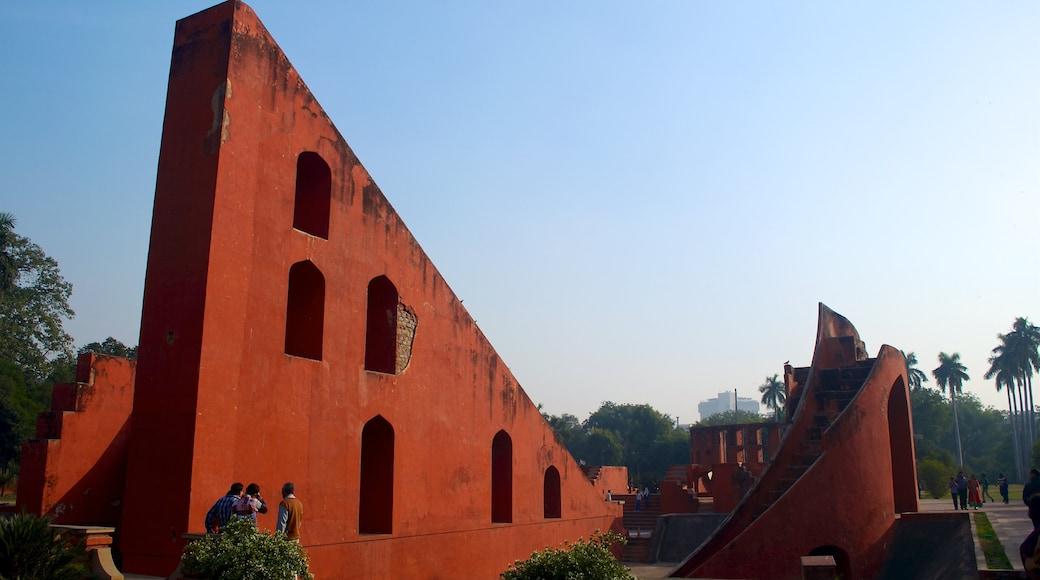Jantar Mantar showing heritage architecture
