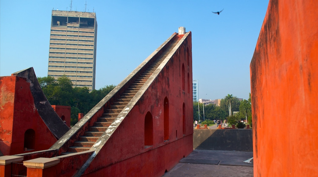 Jantar Mantar featuring a city and a monument