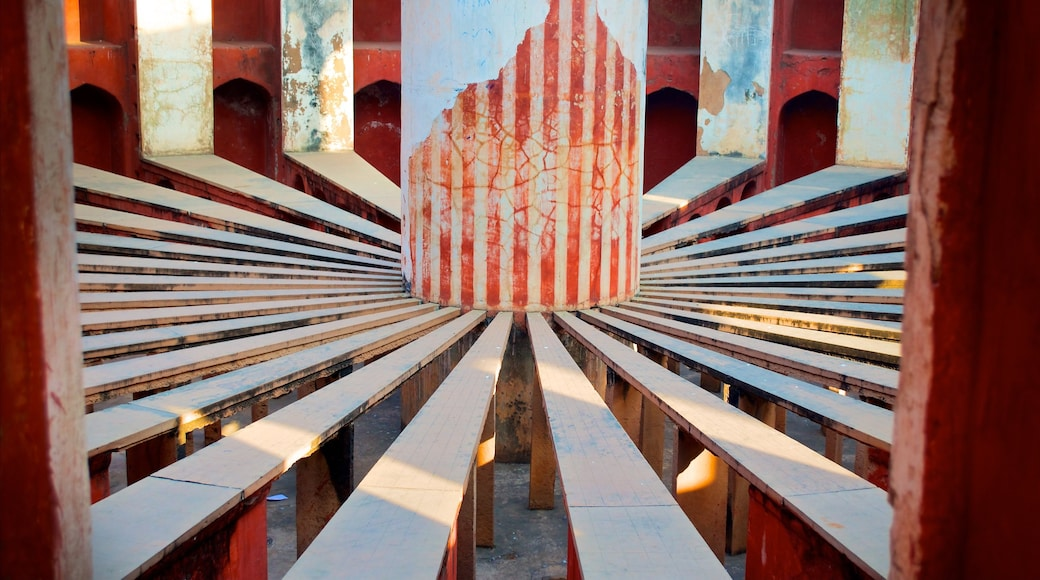 Jantar Mantar which includes heritage architecture