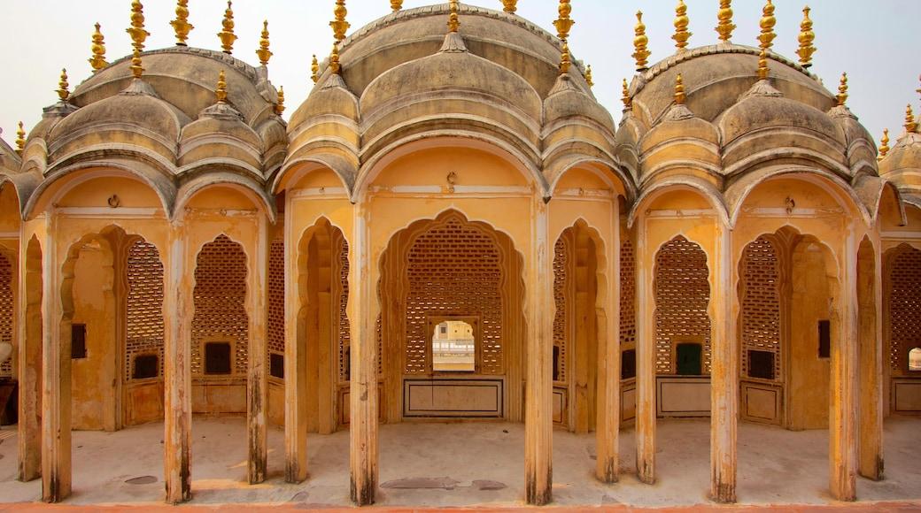 Hawa Mahal ofreciendo patrimonio de arquitectura