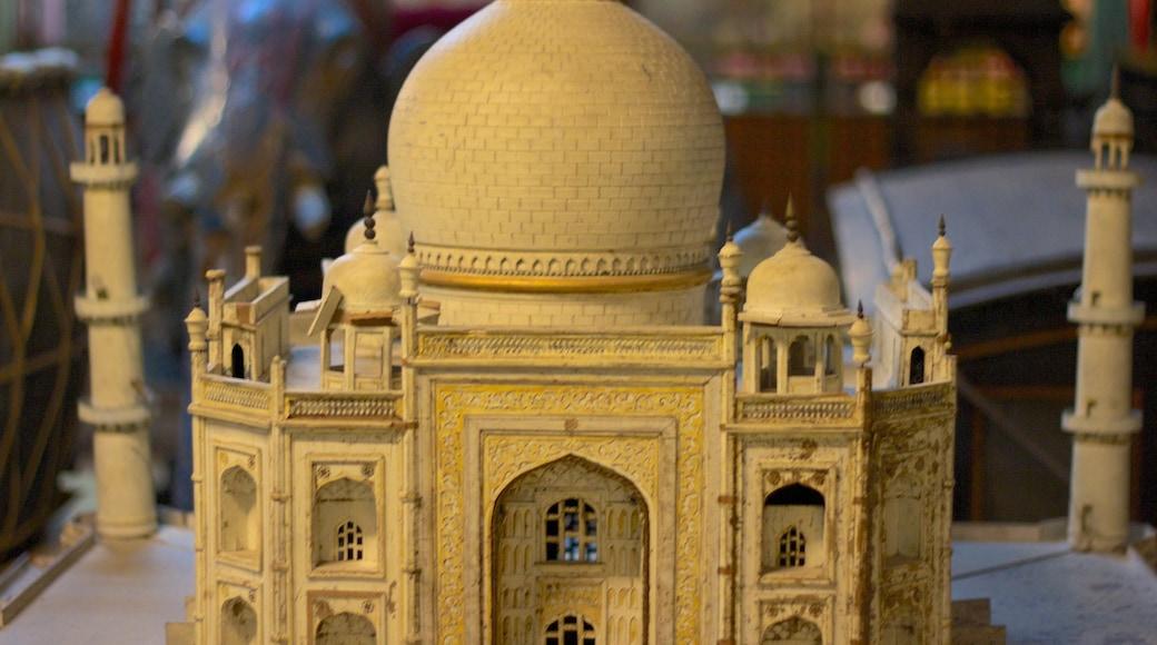 Raja Dinkar Kelkar Museum which includes interior views and art