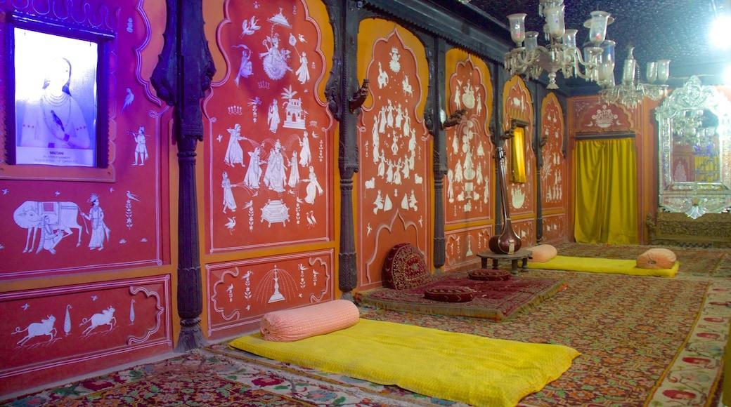 Raja Dinkar Kelkar Museum featuring interior views