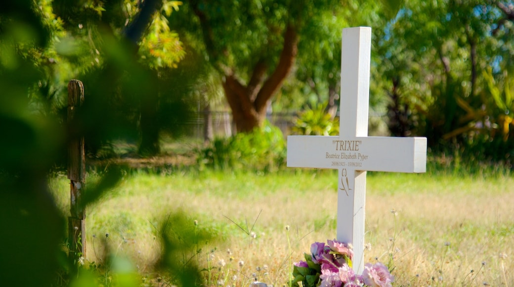 Broome which includes a cemetery and a memorial