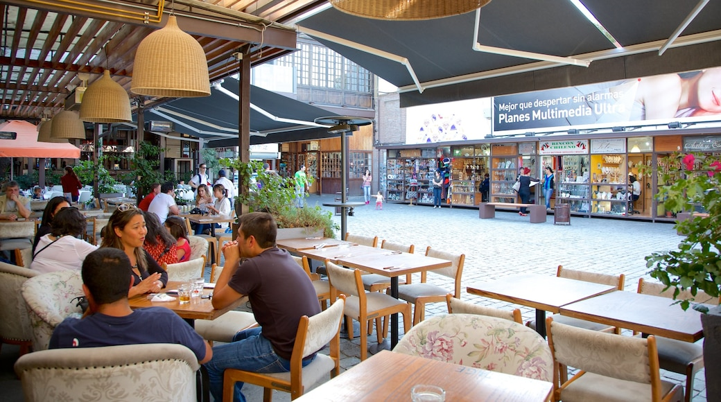 Bellavista featuring dining out and outdoor eating as well as a large group of people