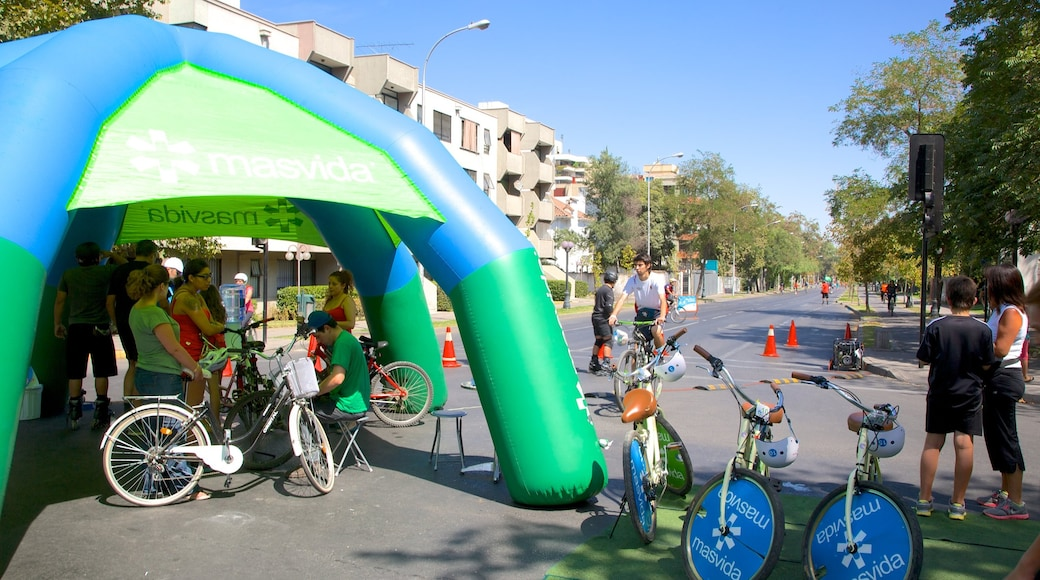 Providencia featuring cycling and a sporting event