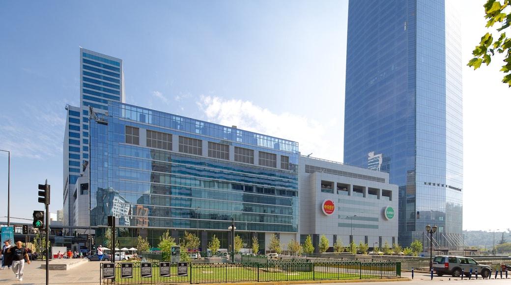 Costanera Center featuring a city