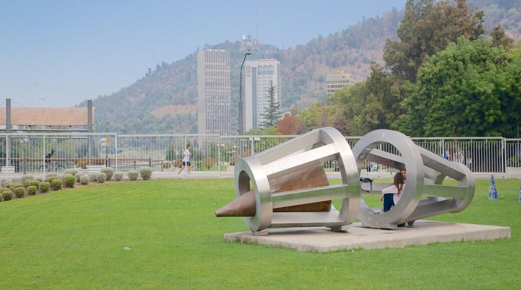 Sculpture Park showing a park, art and outdoor art