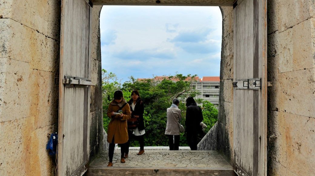 슈리조 성 이 포함 문화유산 건축 과 궁전 또는 고성 뿐만 아니라 소규모 사람들