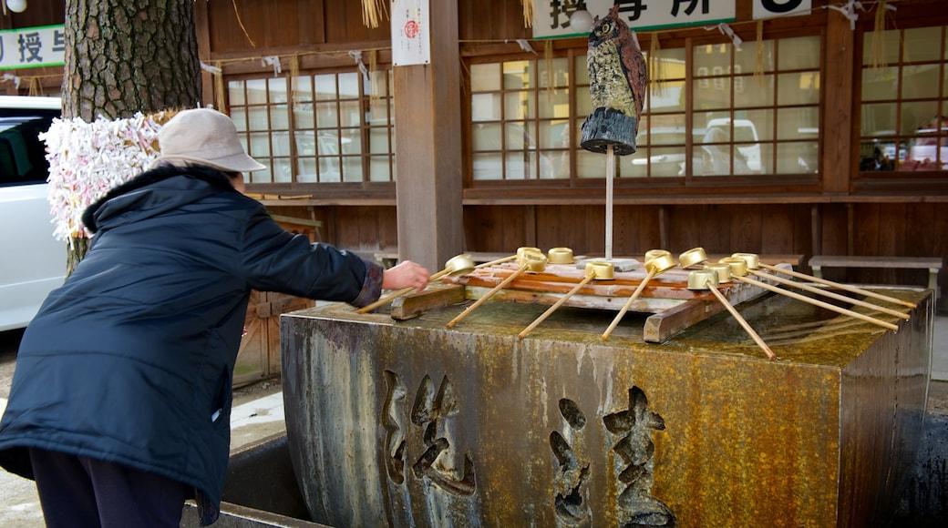 八坂神社 呈现出 宗教方面 和 廟宇或禮拜堂 以及 一名女性