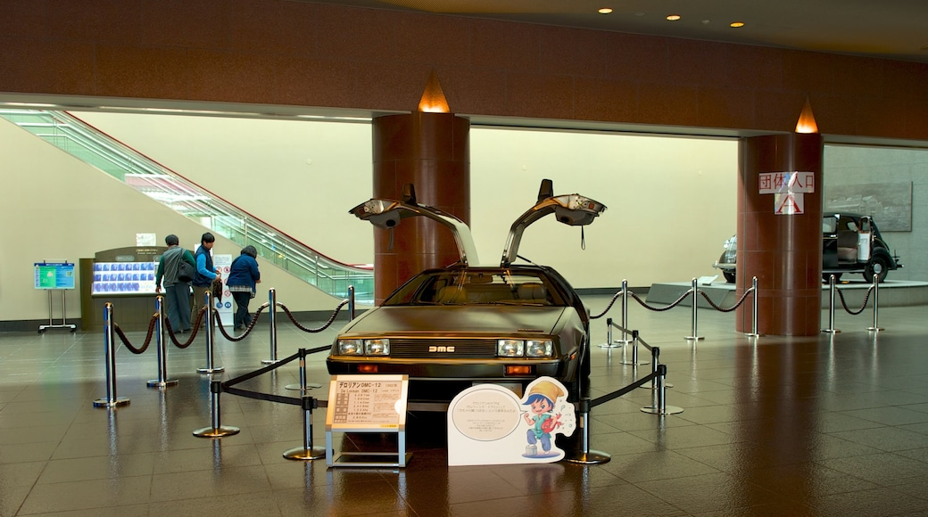 Toyota Automobile Museum featuring interior views