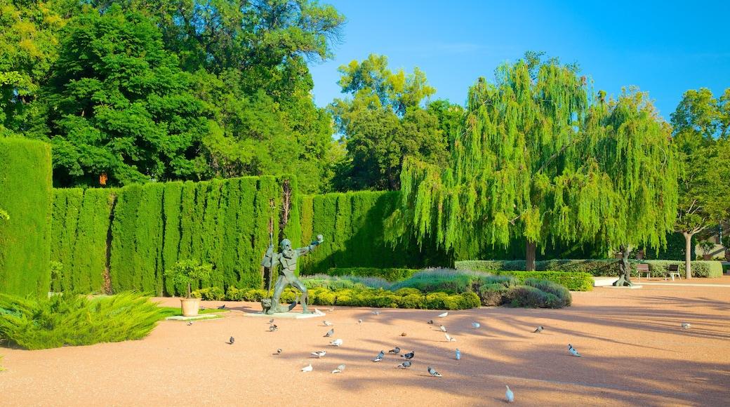 Stadtzentrum von Valencia das einen Garten und Landschaften