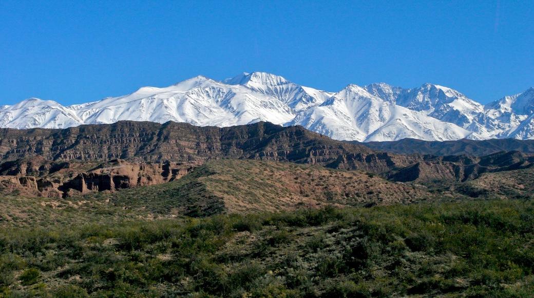 Cuyo - Région viticole qui includes montagnes et panoramas
