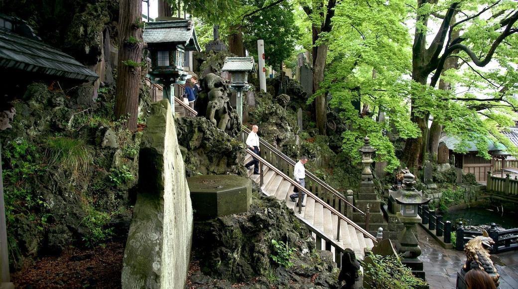 成田山新勝寺 设有 宗教元素, 公園 和 廟宇或禮拜堂