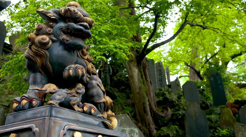 成田山新勝寺 设有 藝術, 戶外藝術 和 雕像或雕塑
