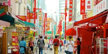 Chinatown 其中包括 市場, 城市 和 街道景色