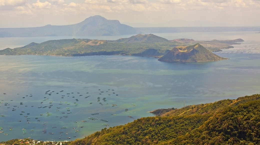Batangas featuring landscape views, general coastal views and mountains