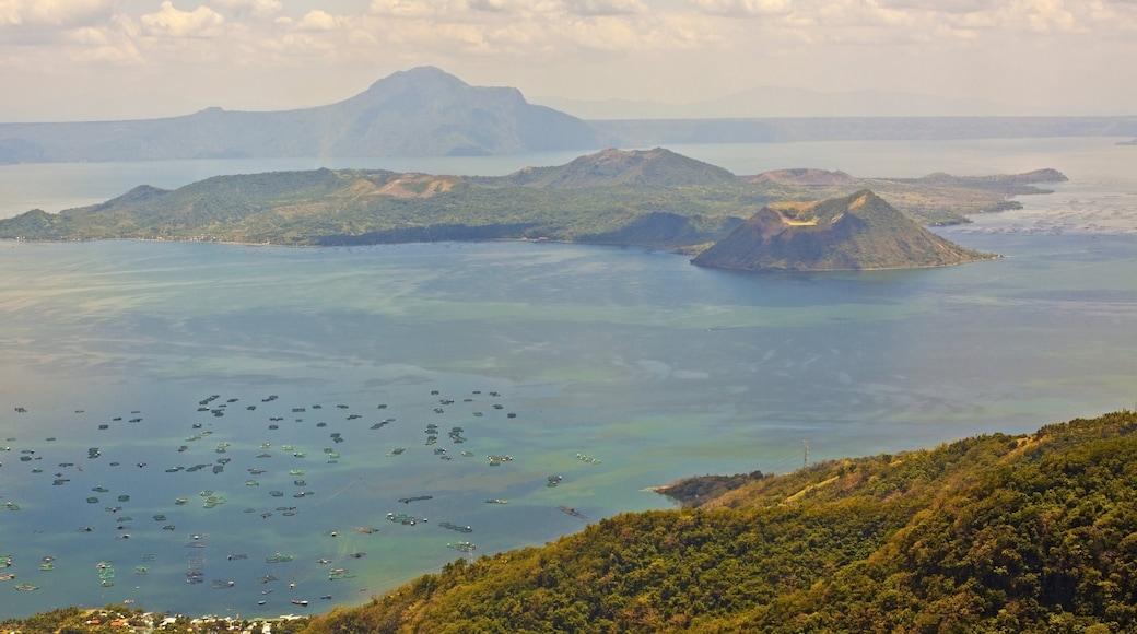 바탕가스 주 을 특징 일반 해안 전경, 산 과 풍경