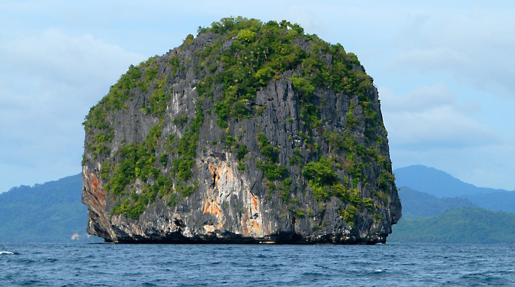 Palawan which includes island images, landscape views and general coastal views