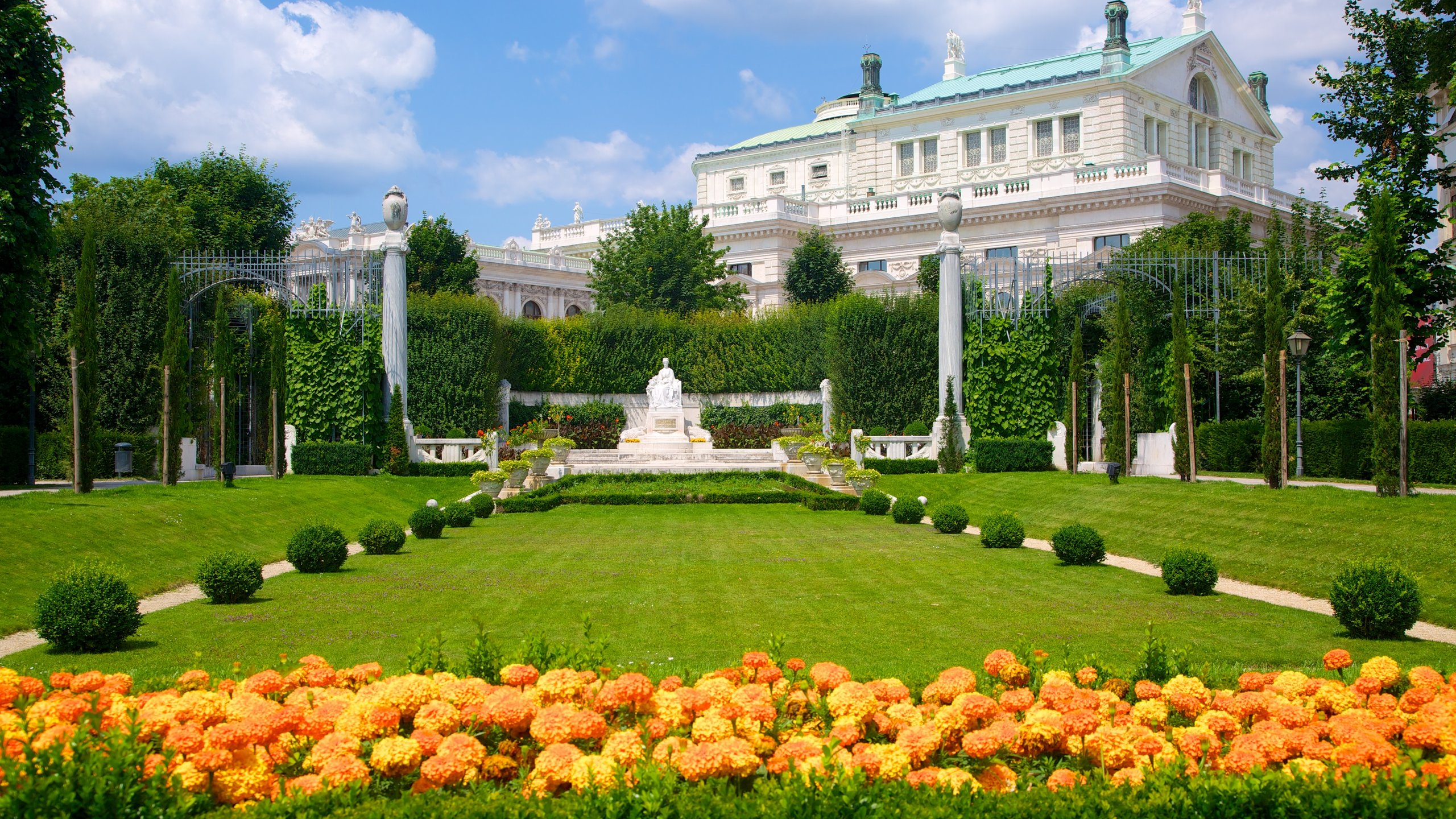 Volksgarten, Wien, Österreich