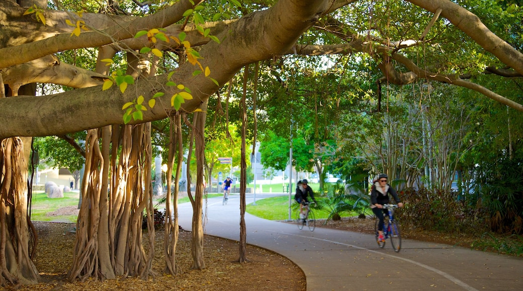 Queensland featuring landscape views, a garden and cycling