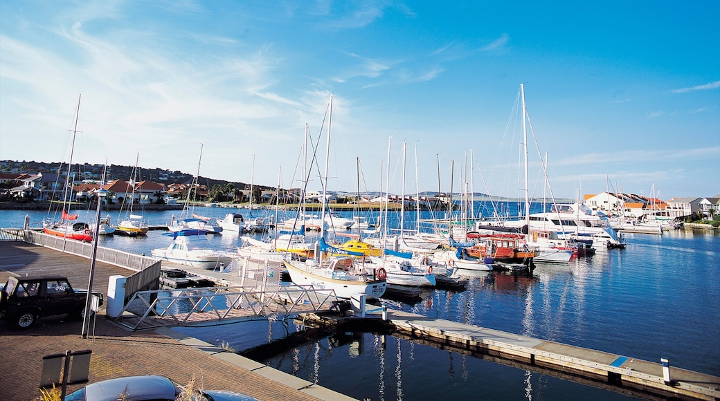 Port Lincoln which includes a coastal town, a marina and boating