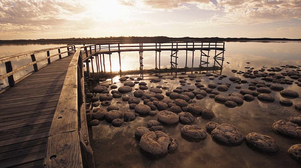 Mandurah which includes general coastal views, landscape views and rocky coastline