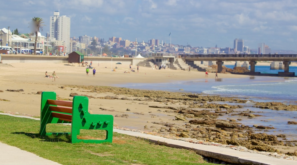 Hobie Beach featuring a city, a beach and general coastal views