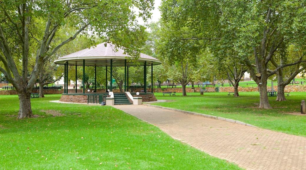 Johannesburg Zoo showing a park