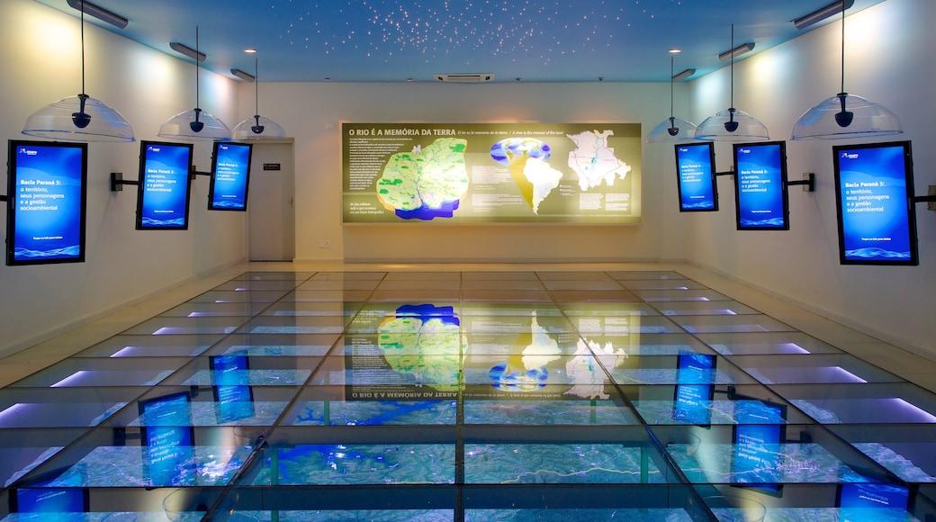 Museo Ecológico mostrando vistas interiores