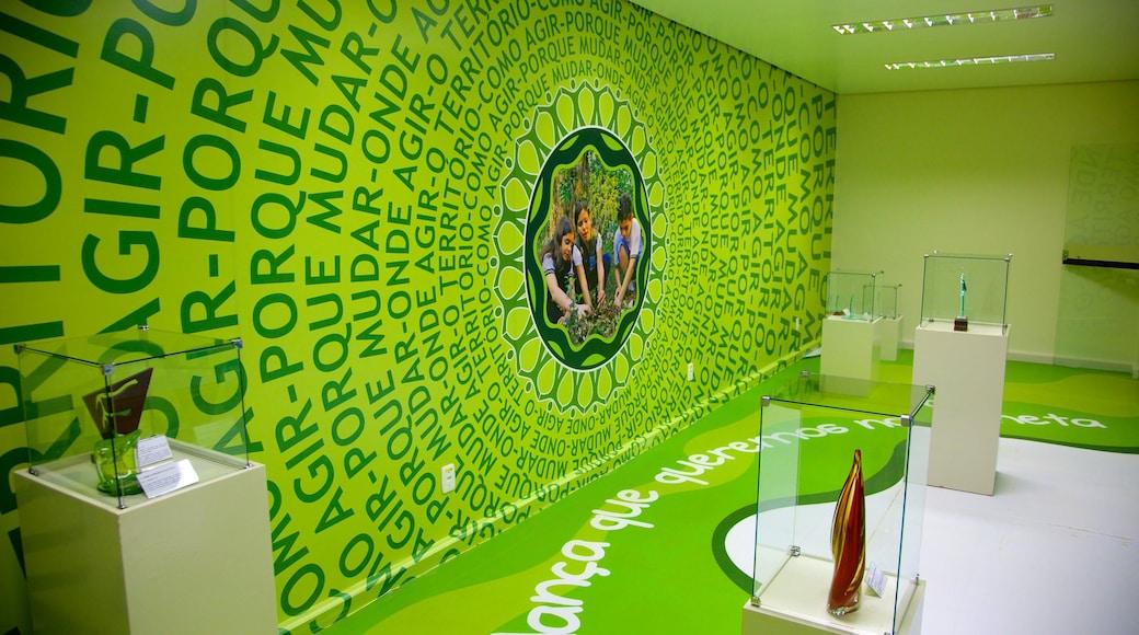 Museo Ecológico ofreciendo vistas interiores