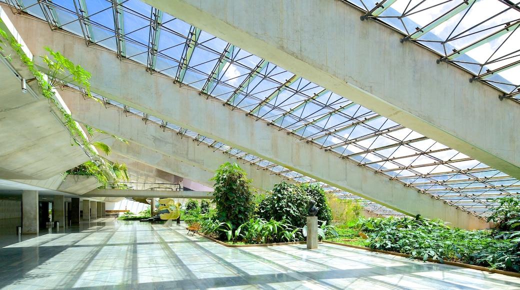 Claudio Santoro National Theater featuring interior views and theater scenes