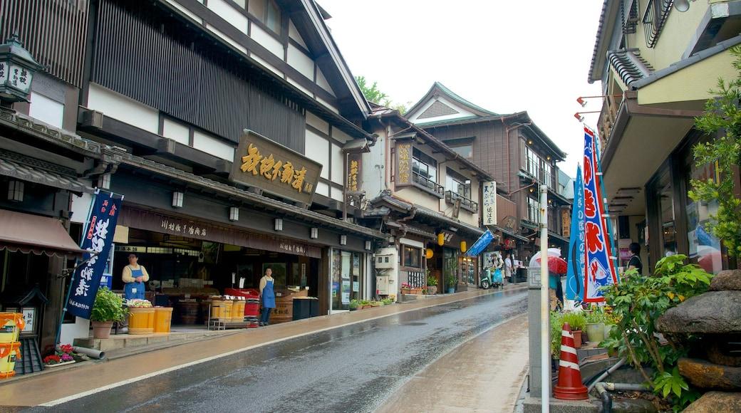 Tokyo som viser gatescener