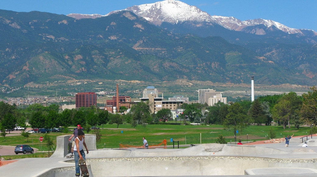 Memorial Park featuring a memorial, a park and landscape views