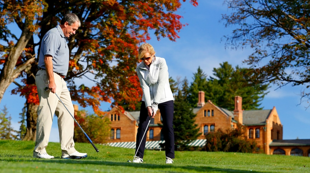 The Berkshires which includes golf