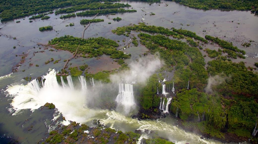 Iguazu Falls featuring a cascade