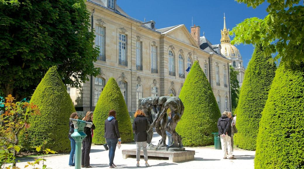 巴黎 呈现出 雕像或雕塑 和 公園