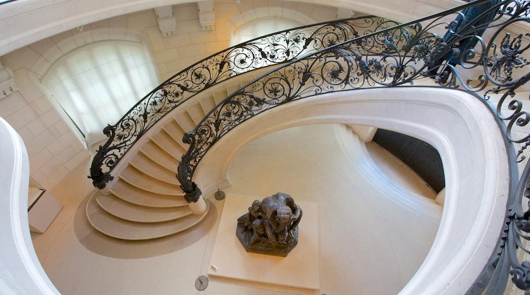 Petit Palais inclusief interieur, kunst en kasteel of paleis