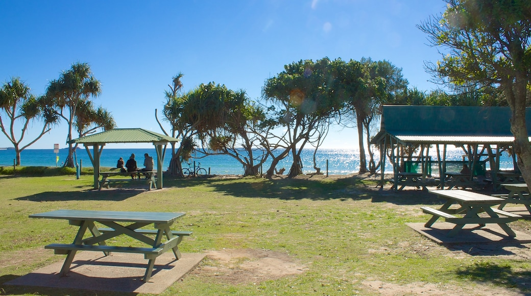 Kingscliff which includes a park and general coastal views