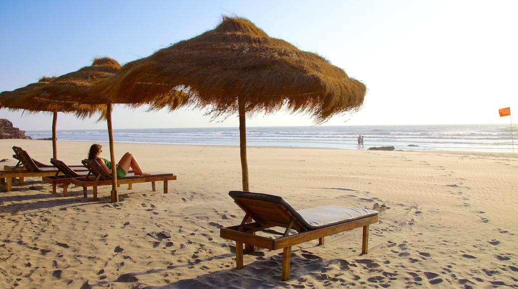 Ashvem Beach which includes a sandy beach