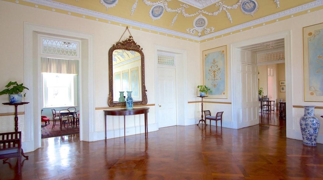 Devon House featuring interior views
