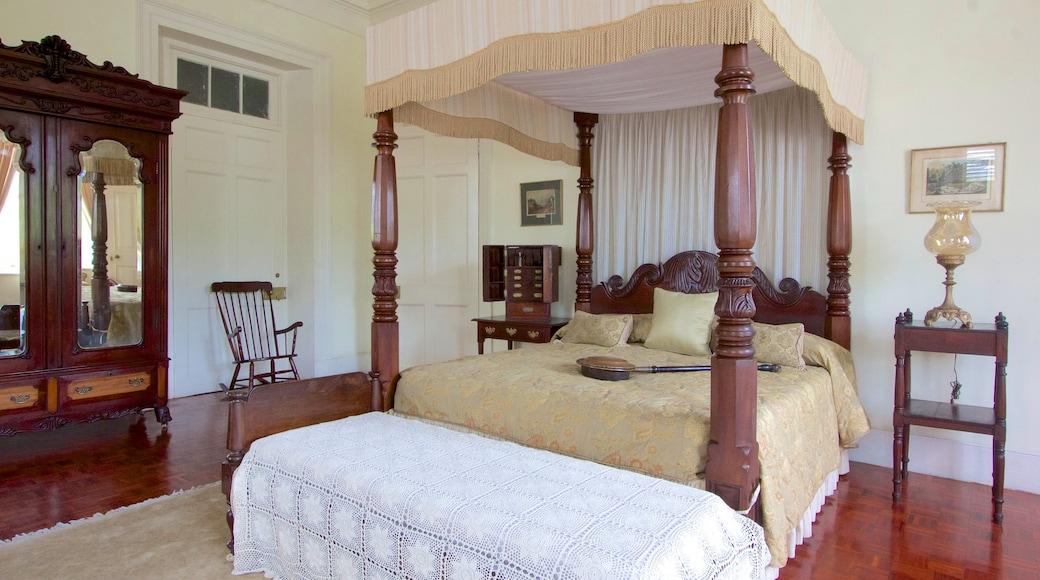 Devon House showing interior views