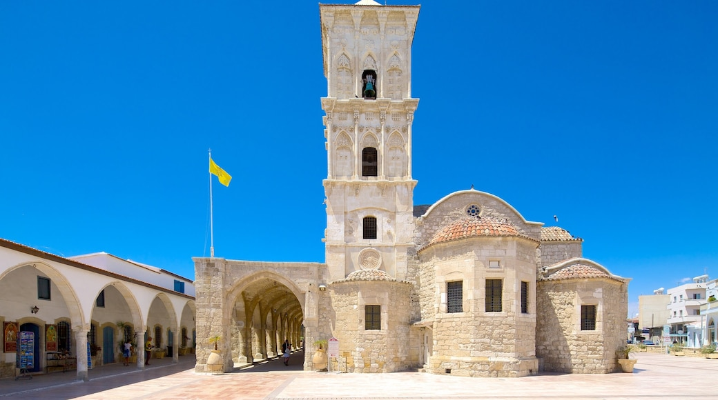 Church of Saint Lazarus showing heritage architecture, a church or cathedral and religious elements