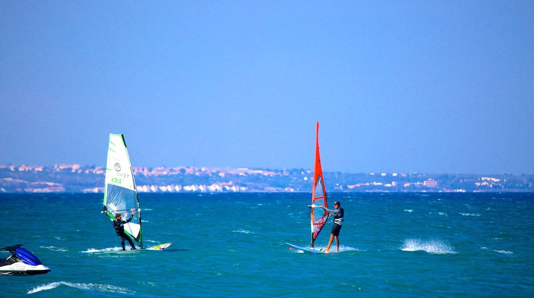 Larnaca which includes windsurfing